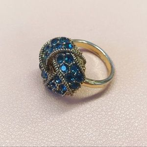 Costume Jewelry - Blue Ring Size 6